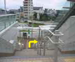 小田急相模原駅 階段