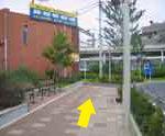 小田急相模原駅 横断歩道付近