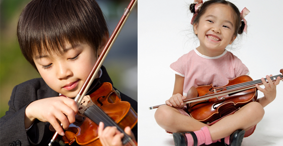 子どもヴァイオリン教室